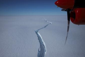 Gigantischer Eisberg abgebrochen
