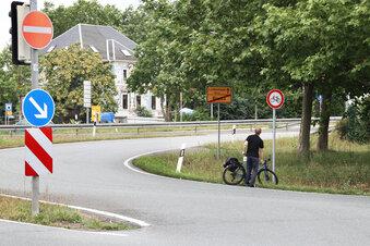 Hat Riesas Radweg-Wirrwarr bald ein Ende?