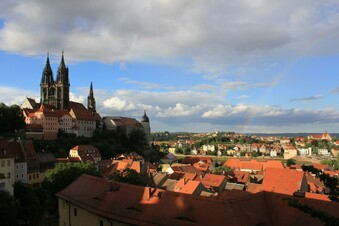 Open Air über den Dächern Meißens