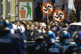 Chemnitz rüstet sich gegenNeonazis