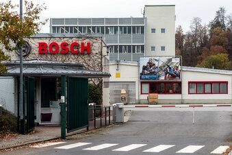 Bosch plant Solarpark in Sebnitz