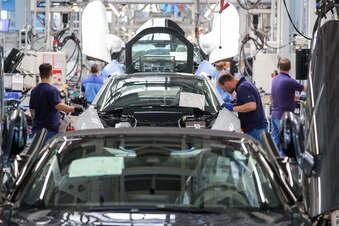 Streik legt BMW-Werk in Leipzig lahm