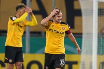 Dynamo hadert nach dem bitteren Pokal-Aus