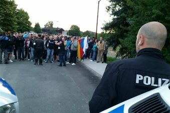 Proteste in Freital gehen auch am Mittwoch weiter