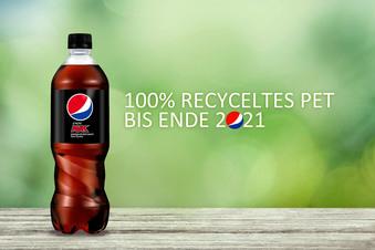 Pepsi stellt auf 100% recyceltes Plastik um