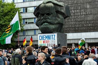 Chemnitz wartet auf die Kanzlerin