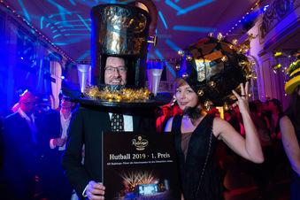 Die schönsten Hüte des Dresdner Hutballs