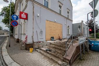 Hartha: Umbau der Sparkassenfiliale im Dezember fertig