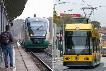 Ein Ticket für Zug, Bus und Straßenbahn