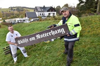 Schellerhau: Skilift wird startklar gemacht