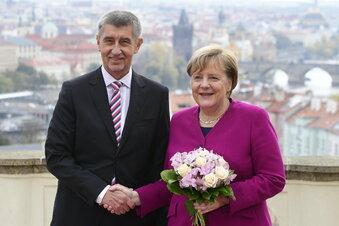 """Wehmut in Prag: """"Merkel war eine von uns"""""""