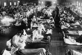Wie die Spanische Grippe wütete