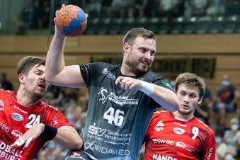 Emotionaler Abend für Dresdner Handballer