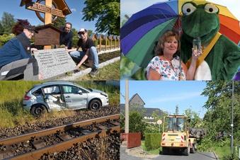 Klickstark: Auto kollidiert mit Bahn