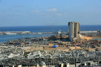 Festnahmen nach Explosion in Beirut
