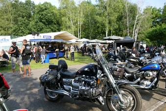 Motorradconvention am Bernsteinsee