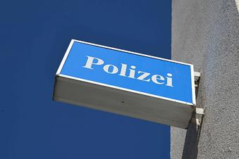 Sachbeschädigung bei der Dresdner Polizei