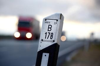 Zufahrten zur B178n wechselseitig gesperrt