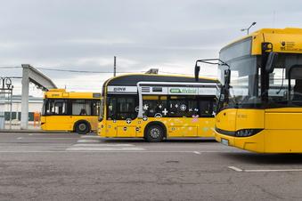 Mehr Dresdner Bahnen und Busse seit Ferienbeginn umgeleitet