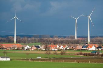 Lockerung der Abstandsregel für Windräder