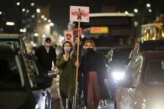 Zgorzelecer Frauen gehen auf die Straße