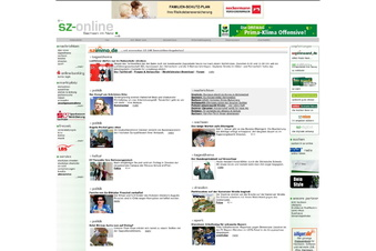 Wie aus SZ-Online Sächsische.de wurde