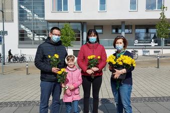 Rosen für Mütter in Radebeul