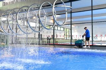 Neues Schwimmbad in Dresden öffnet seine Becken