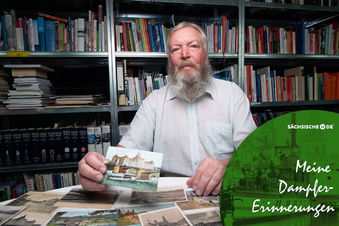 Postkarten erzählen Dampfergeschichte