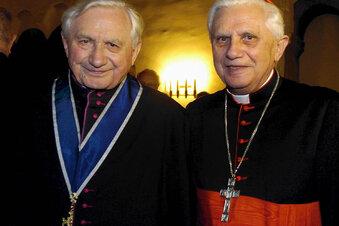 Papst Benedikt verzichtet auf Erbe