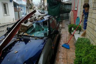 Tote und schwere Schäden in Griechenland