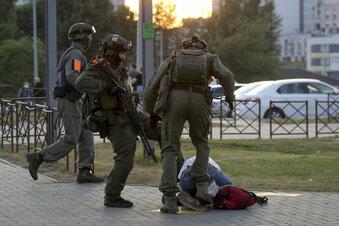 Belarus: Die Polizeigewalt geht weiter