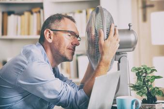 Den Kreislauf bei Hitze in Schwung bringen