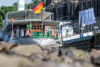 Spendenaktion für Dresdner Dampfer gestartet