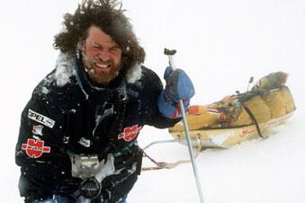 Mit wunden Füßen durch die Antarktis