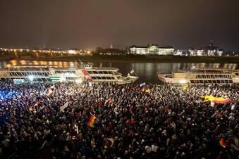Asylstreit: Tausende Dresdner heute auf der Straße