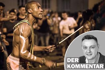 Dresdens kulturloses Scheingefecht