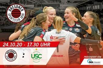 DSC vs. USC Münster | 24. Oktober 2020