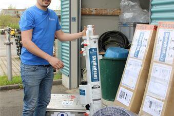 Sauberes Wasser für Tsunami-Opfer