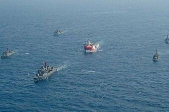 Boote in der Ägäis kollidiert