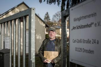 Dresdner Kleingartenverein kämpft um Zugang