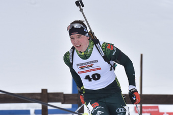 Sachsens bester Biathlet verpasst Weltcup