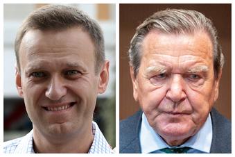 Nawalny attackiert Schröder