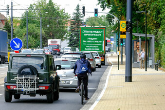 Hier wird's für Radfahrer gefährlich