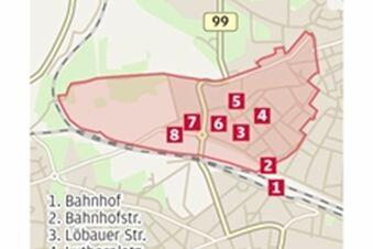 Arbeiterviertel ohne Mietskasernen