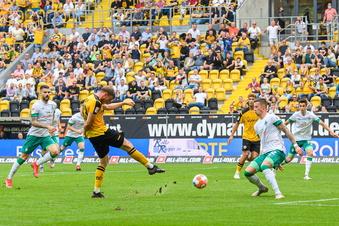 3:0 gegen Bremen: Daferner schießt Dynamo zum Sieg