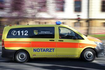 Von Multicar erfasst: Frau schwer verletzt