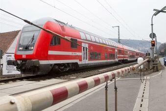 Notumfahrung für den Gleisbau