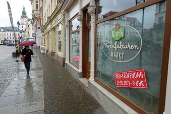 Karls Erlebnis-Dorf: Geschäft in Döbeln wird eingerichtet