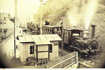 Als die Züge vorbeifuhren